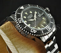 Invicta 47mm Pro Diver NEW YORK Black Ion Plated HIGH POLISHED SS 300m Watch