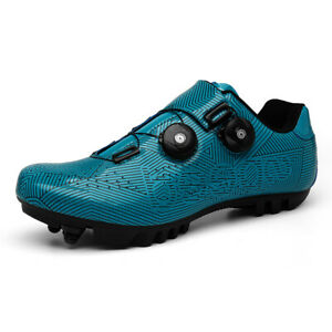 Professional Mountain Athletic Bicycle Shoes Male Cycling Sneakers Spin Cleats