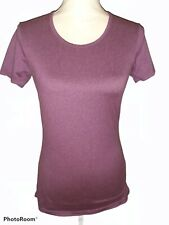 32 Degrees Cool Purple Active Workout Athletic Top Size Small