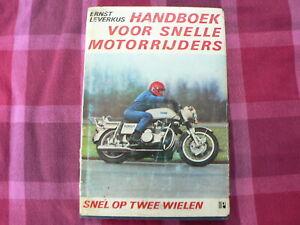 HANDBOEK VOOR SNELLE MOTORRIJDERS LEVERKUS MUNCH 1200 TTS COVER,NORTON,GUZZI