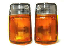Turn signal indicator blinker lights set pair LH+RH fits NISSAN Patrol 1995-1997