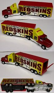 1997 Washington Redskins Metal Die cast Truck Trailer Scale 1:80