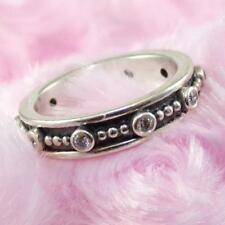 Pandora Sterling Silver Fairy Tale CZ Eternity Band Ring Size 5 190882CZ LDA3