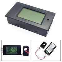 100A AC Power Panel Monitor Medidor Potencia Energía Voltímetro Amperímetro+CT