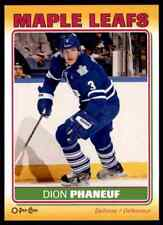 2012-13 O-Pee-Chee Stickers Dion Phaneuf #S-86