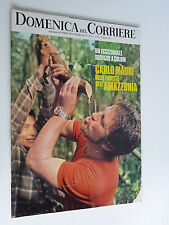 DOMENICA DEL CORRIERE  giugno  1972 // AMAZZONIA// CLAUDINE AUGER// JOHAN CRUYFF