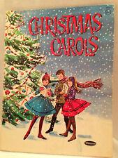 Vintage Christmas Carols 17 Easy Piano Lyrics Old World Photos 1957