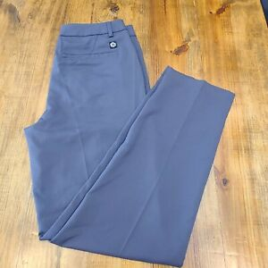 PUMA Jackpot 6 Pocket Dark Gray Charcoal Golf Pants 573906 Size 32 x 32