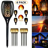 96 LED Waterproof Flickering Flame Solar Torch Light Outdoor Garden Lawn Lights