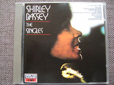 Shirley Bassey - The Singles - 16 Songs - EMI (UK) label CD (1988) - Imported