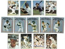 NEW YORK YANKEES ~ 1981 Topps Stickers Lot w/ Hall of Famers