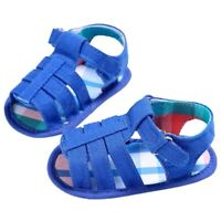 Baby Infant Kids Girl boys Soft Sole Crib Toddler Newborn Sandals Shoes (0~6X3A7