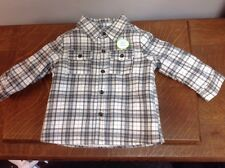 Careers Boys Cozy Flannel Fleece Shirt Size 18 Months