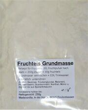 (1kg=27,60€) 250g Fruchteis Grundmasse - Eispulver