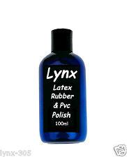 Lynx Latex Caoutchouc & Pvc-ULTRA SHINE - 100 ml pour seulement £ 10.99 - Gratuit P + P