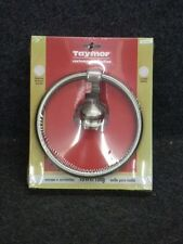 Nos! Taymor Contempra Collection Towel Ring Holder, Satin Nickel, 02-D7704Sn