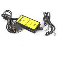 Connecteur 12 broches Adaptateur de musique MP3 autoradio USB AUX Audio Inter 9T