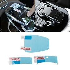 3x Center Console Mouse Touch Protective Film For Mercedes Benz C E S V GLC GLE