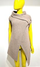 JIL SANDER 100% Cashmere Wrap Sweater Made in Italy Size S Originally $2800!!