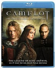 Camelot: The Complete Series - Uncut Edition [Blu-ray Set, Region A, 4-Disc] NEW