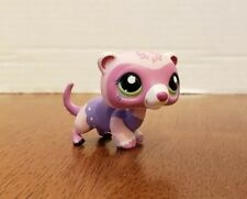 Authentic Littlest Pet Shop Lps #1700 Sparklynn Stone Ferret Weasel