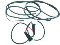 Vespa side panel indicator wires & COWL HOLDERS SET for PX LML SET OF 4