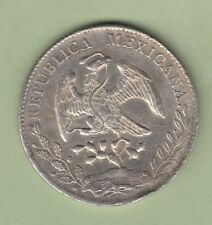1897-FZ Mexico 8 Reales Silver Coin - Zacatecas Mint - EF