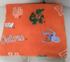 """ FOOTBALL SEASON"" FLORIDA GATOR Throw/Blanket/ 70""x 60""  $35.00 ea.2 available"