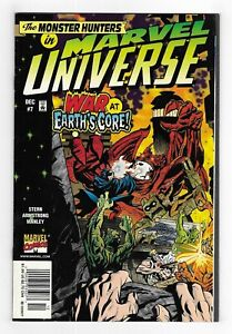 MARVEL UNIVERSE : The Monster Hunters #7 MODERN AGE COMIC BOOK 1998 newsstand SP