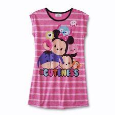 Disney TSUM TSUM Girls Nightgown Pajamas Size 14/16 XL  Minnie Mouse Mickey NEW