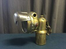 Magnifique Lampe Phare Carbide Lamp moto 1930 LUXOR & Black Out !!!