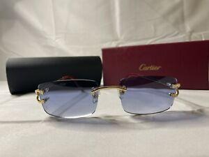 Cartier Sunglasses (Blue Tint)