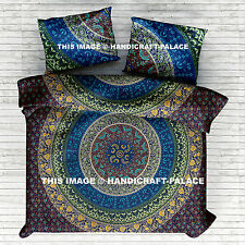 Indian mandala Duvet Cover Queen Quilt Cover Bedding Donna Cover With 2 Pillows