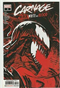 Carnage, Black White & Blood # 3 Cover A NM Marvel