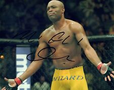 Anderson Silva Signed Autographed 8x10 Photo UFC MMA Fighter COA