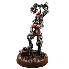 Warhammer 40K: Mechanic Adept Demale Tech Priest with Servo Arm MKVII - Wargames