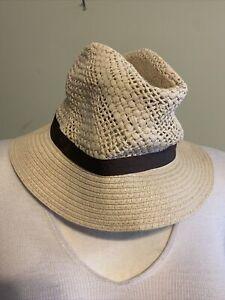 NWT Golfino Ladies toyo Braided Straw Hat 6276722 110 Size small or medium NEW