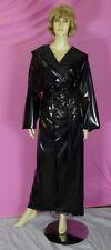 Regenmantel Mantel Morgenmantel  PVC black XL NEU Diargh