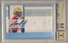 AARON RODGERS 2005 SPX RC ROOKIE AUTOGRAPH PACKERS JERSEY AUTO #/250 BGS 9.5 GEM