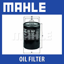 Mahle Oil Filter OC243 - Fits Fiat, Lancia - Genuine Part