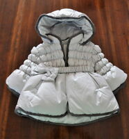 Baby Graziella - Giubbotto Parka Cappotto - Bambina 6 Mesi Made in Italy BG01003