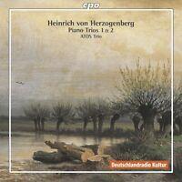 ATOS Trio, H. Herzogenberg Von - Piano Trios 1 & 2 [New CD]