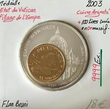 Médaille - Pillage de l'Europe - 2003