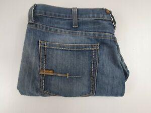 "Ariat Jeans - M4 Rebar Blue Low Rise Boot - 40"" Waist"