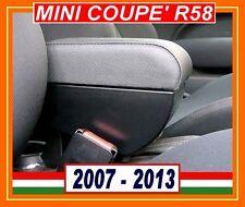 MINI COOPER ONE COUPE R58 (2007-2013) ACCOUDOIR PREMIUM REGLABLE made in Italy