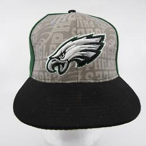 Philadelphia Eagles Snapback Cap Hat NFL Football New Era Fits Vintage 30% Wool