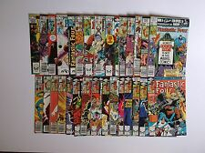 FANTASTIC FOUR BRONZE AGE LOT OF 30 ISSUES - 219-256 - NICE GRADES