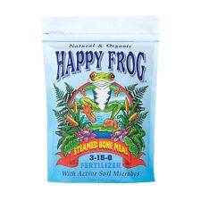Fox Farm Happy Frog Steamed Bone Meal 4 lb Pound - organic foxfarm mykos