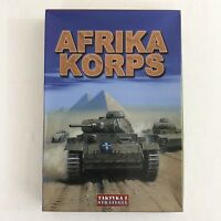 Taktyka I Strategia Afrika Korps Simulation Game World War II Battle In Polish