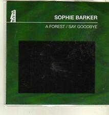 (CW380) Sophie Barker, A Forest / Say Goodbye - 2011 DJ CD